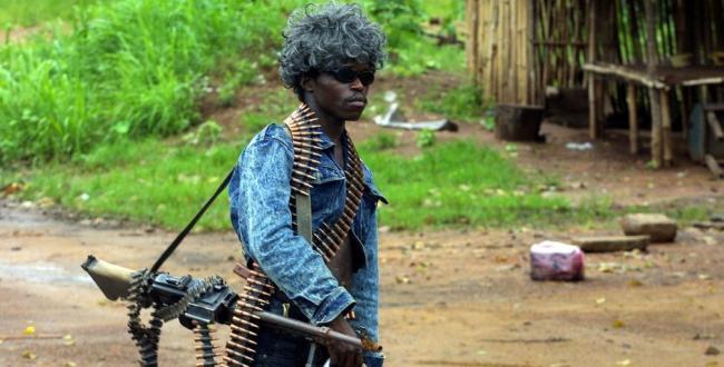Liberian Soldier Fashion Show