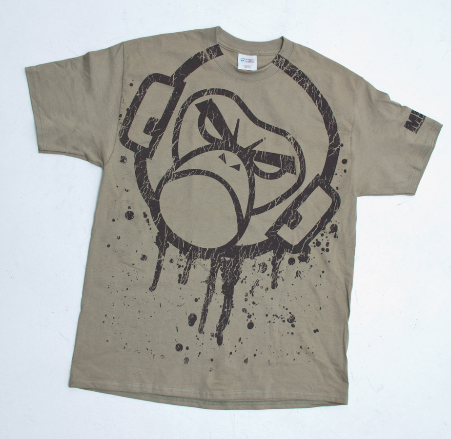 Design t shirt back - We Usually Have The Design Big But On This One It Is Rowdy Big On The Front With Distressed Effects Back Side Is Blank This Batch Is Done On Port And