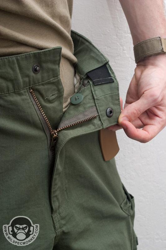 Tru Spec Pants on Zipper Design