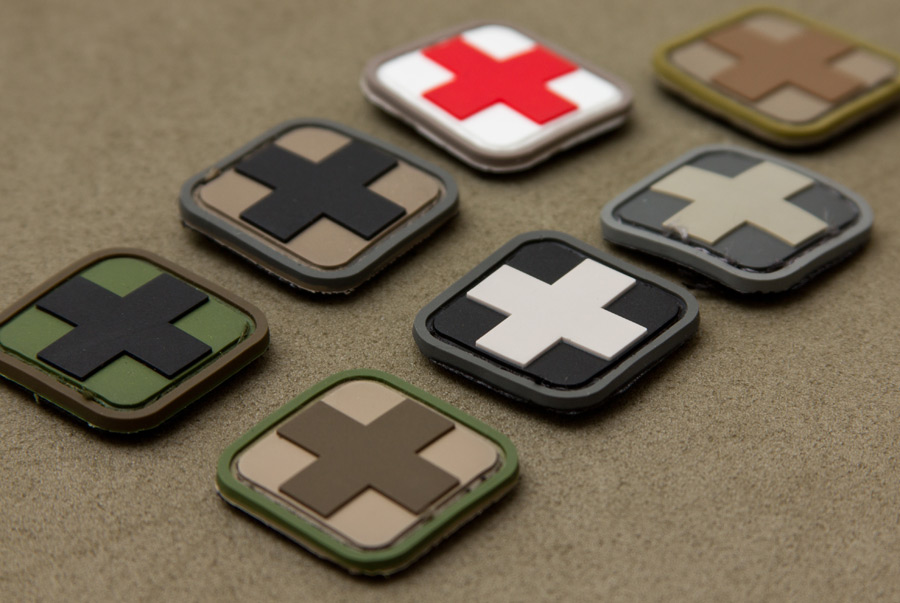 Medic Square 1inch Pvc Mil Spec Monkey Store