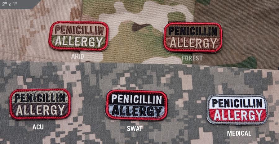 Penicillin Allergy - MIL-SPEC MONKEY STORE