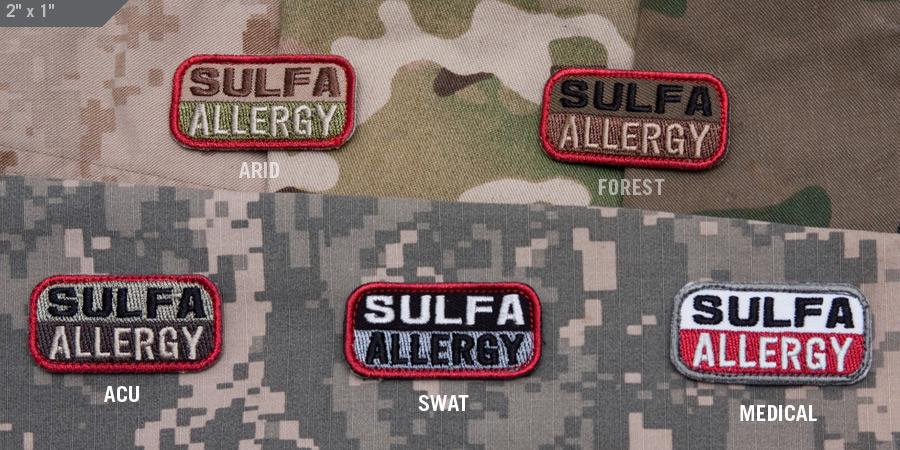 sulfa allergy - mil-spec monkey store, Skeleton