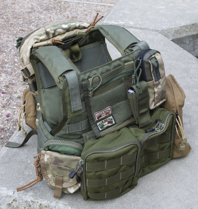 Eagle Industries Molle Style Plate Carrier With Cummerbund