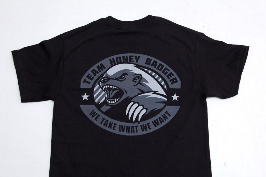 honey badger tshirt milspec monkey store