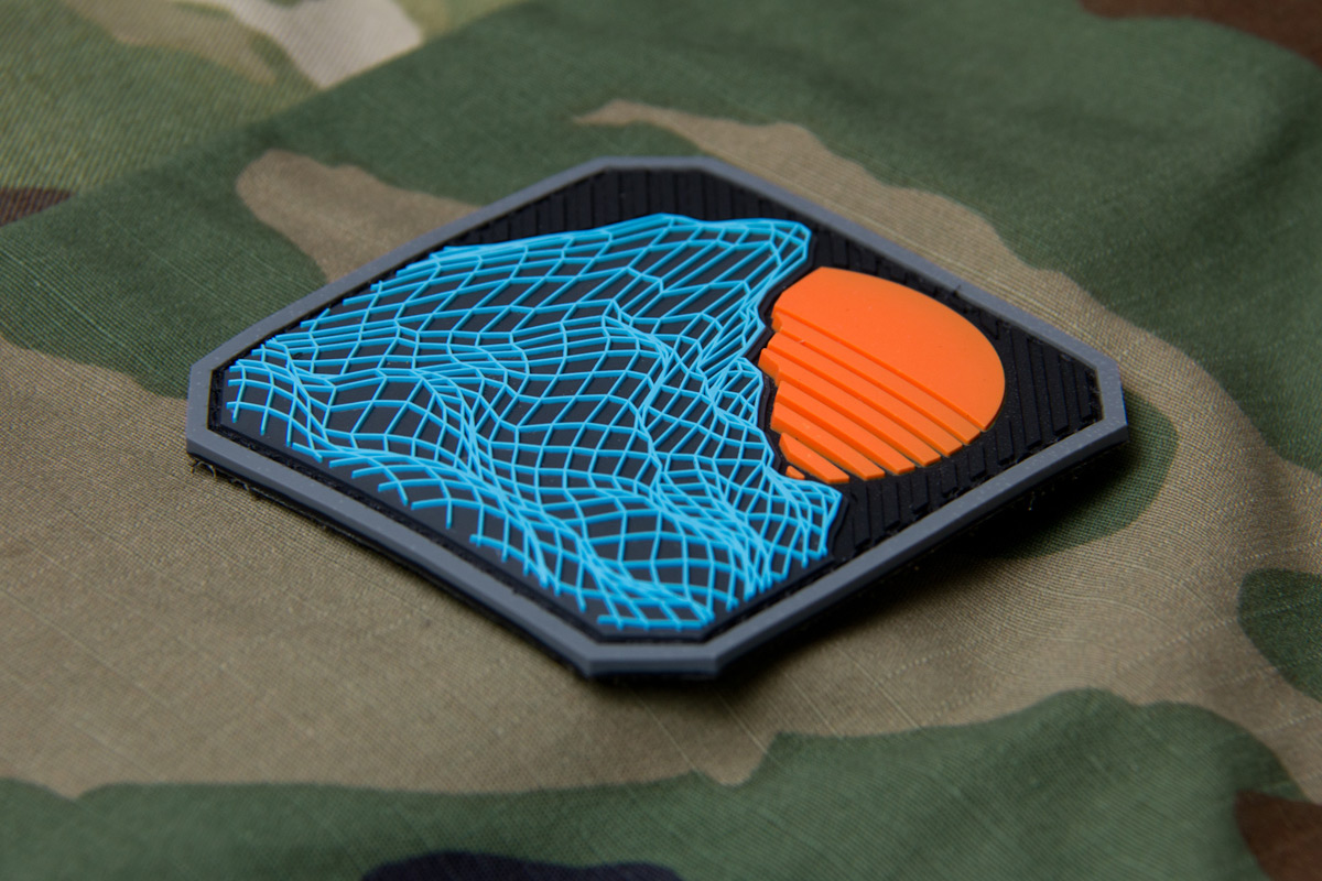 Retro Rock PVC Morale Patch