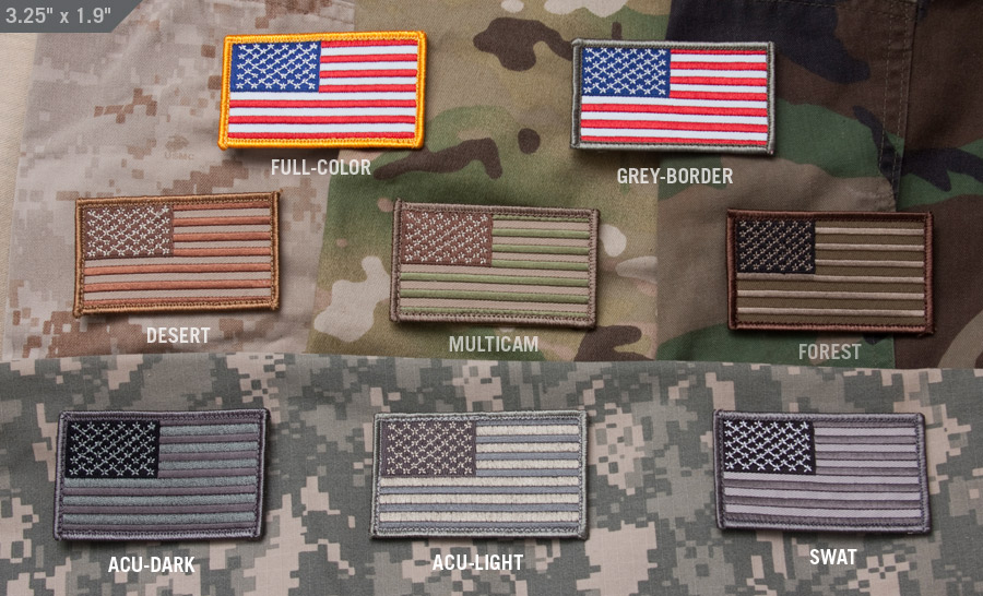MilSpecMonkey Patch US Flag multicam