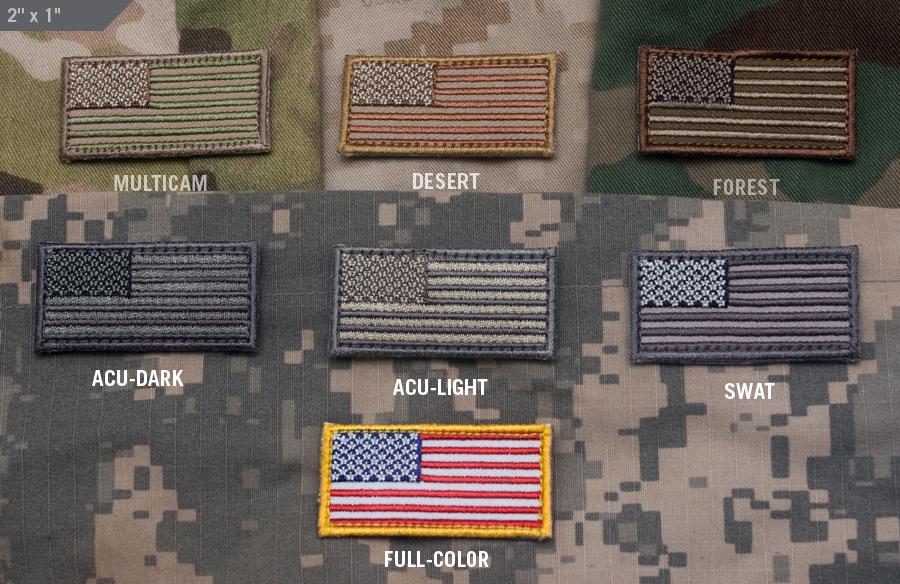US Flag Mini Patch - MIL-SPEC MONKEY STORE