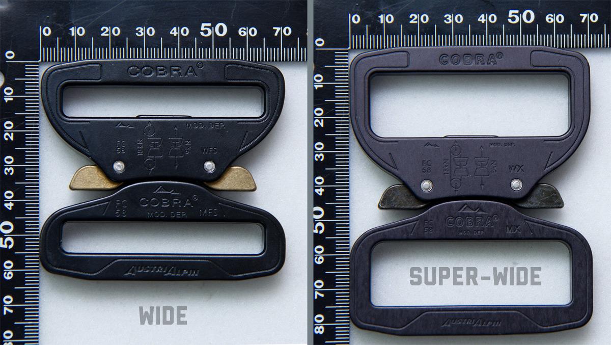 AustriAlpin Cobra® Buckle 2 25inch Slot