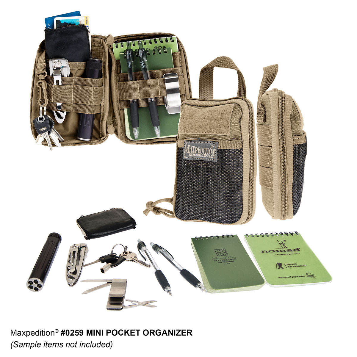 maxpedition mini  Maxpedition Mini Pocket Organizer - MIL-SPEC MONKEY STORE