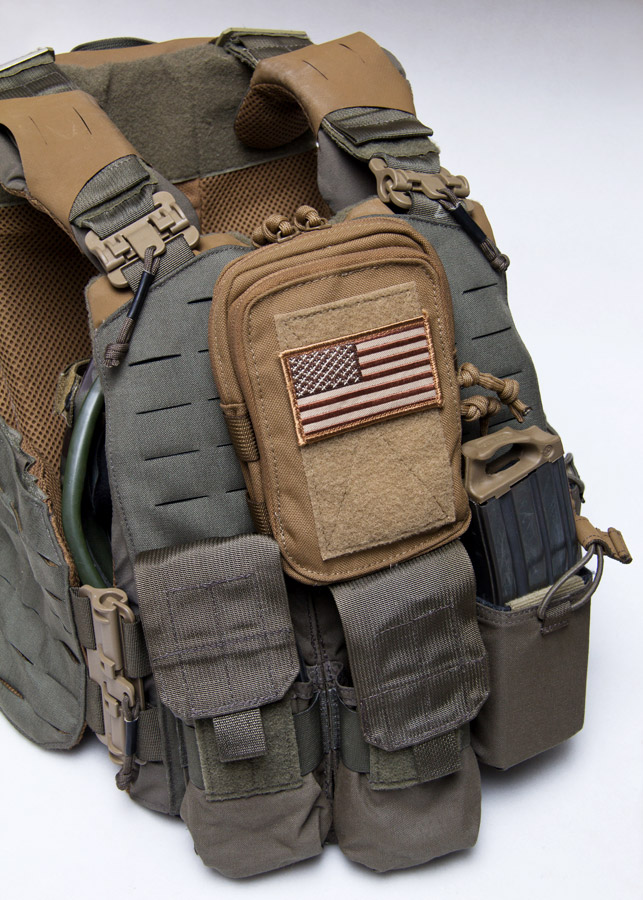 STEALTH COMPACT Pouch Milspec Monkey MSM Tactical Tailor RANGER GREEN
